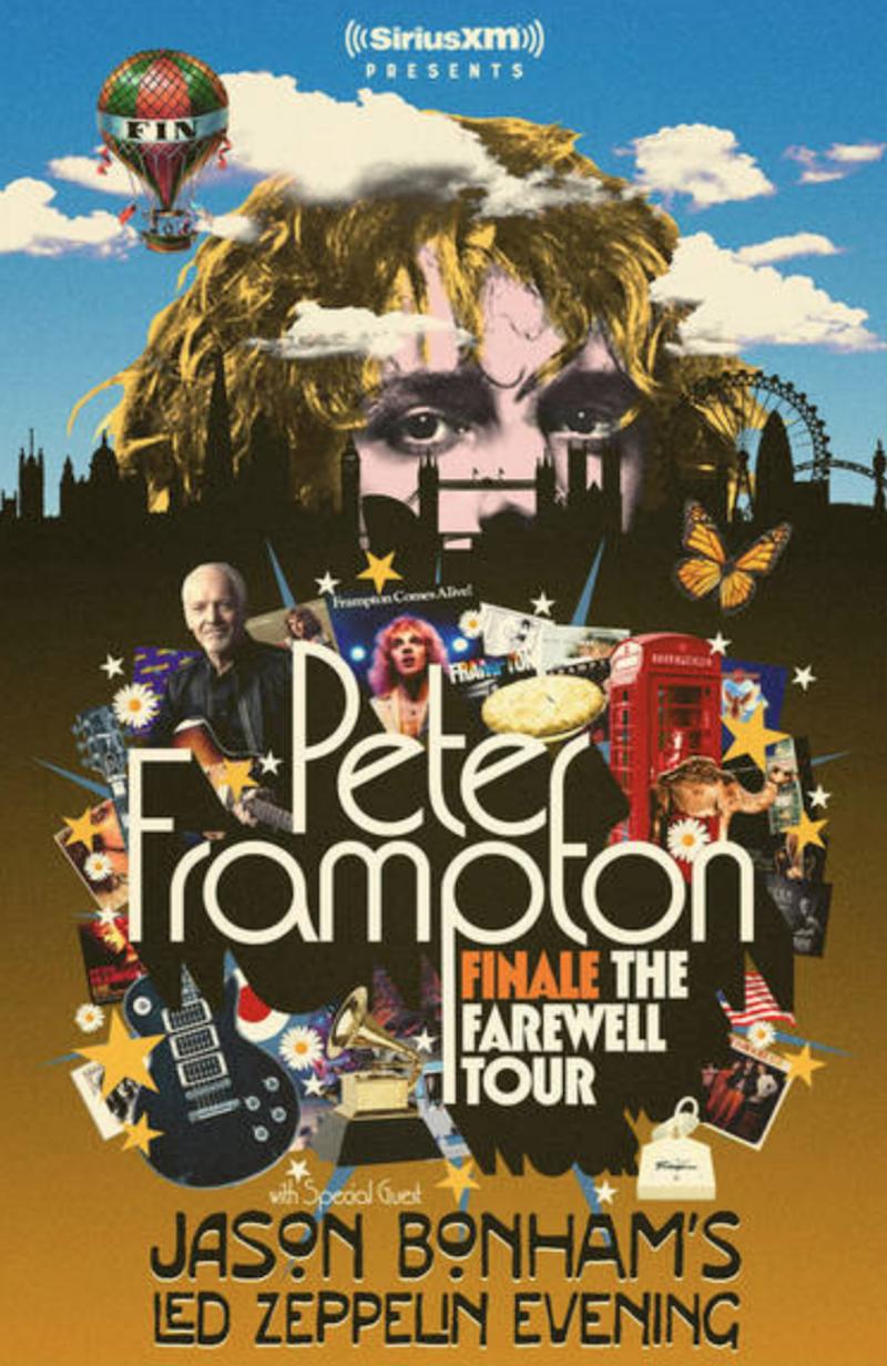 Peter Frampton Finale Farewell tour dates 2019 rock concerts