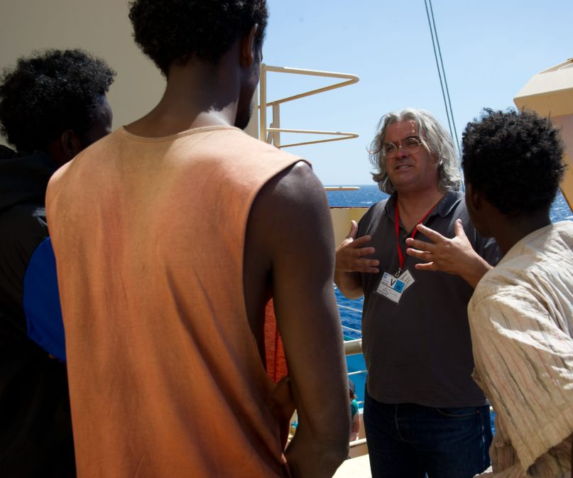 captain phillips sony columbia paul greengrass set photo
