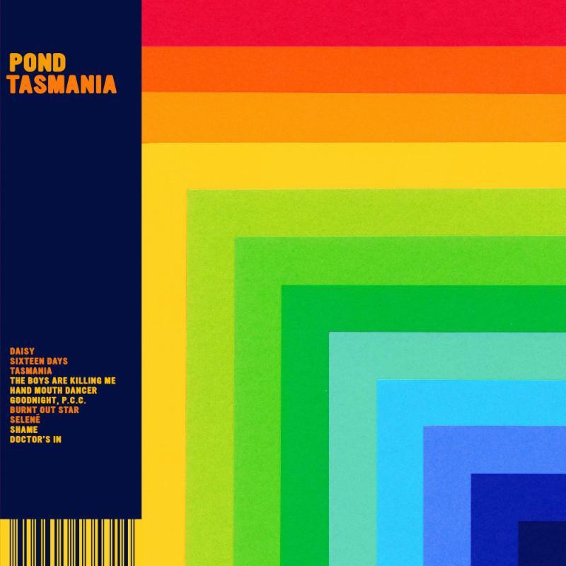 POND Tasmania New Album Artwork 2019