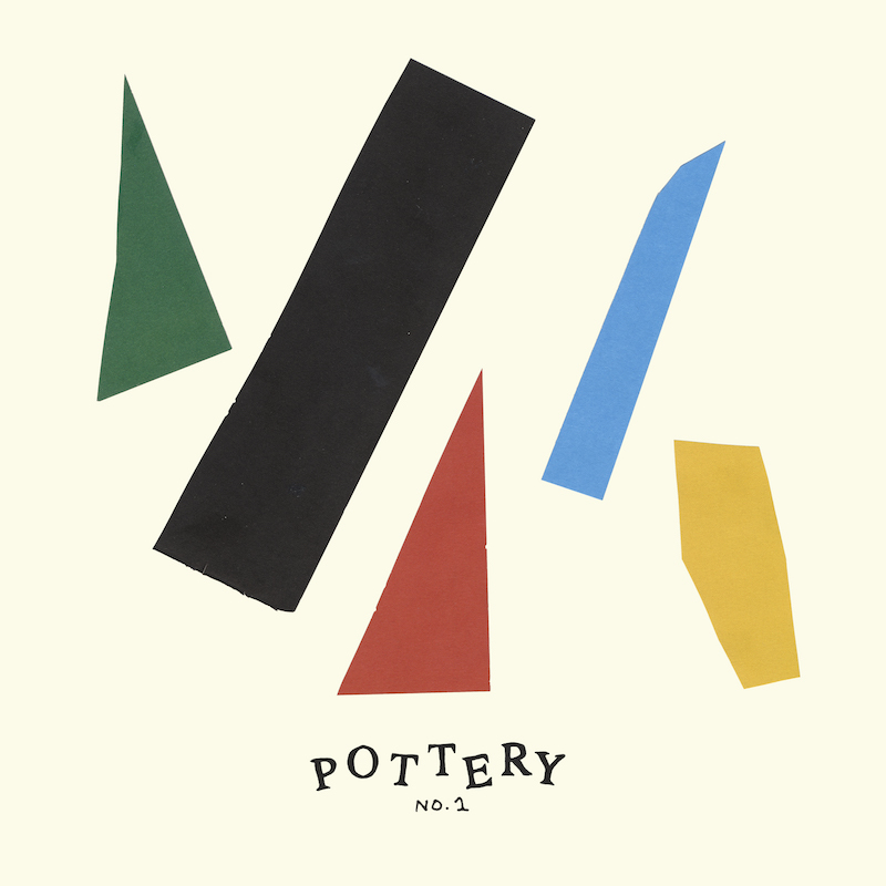 pottery no 1 debut ep partisan cover artwork