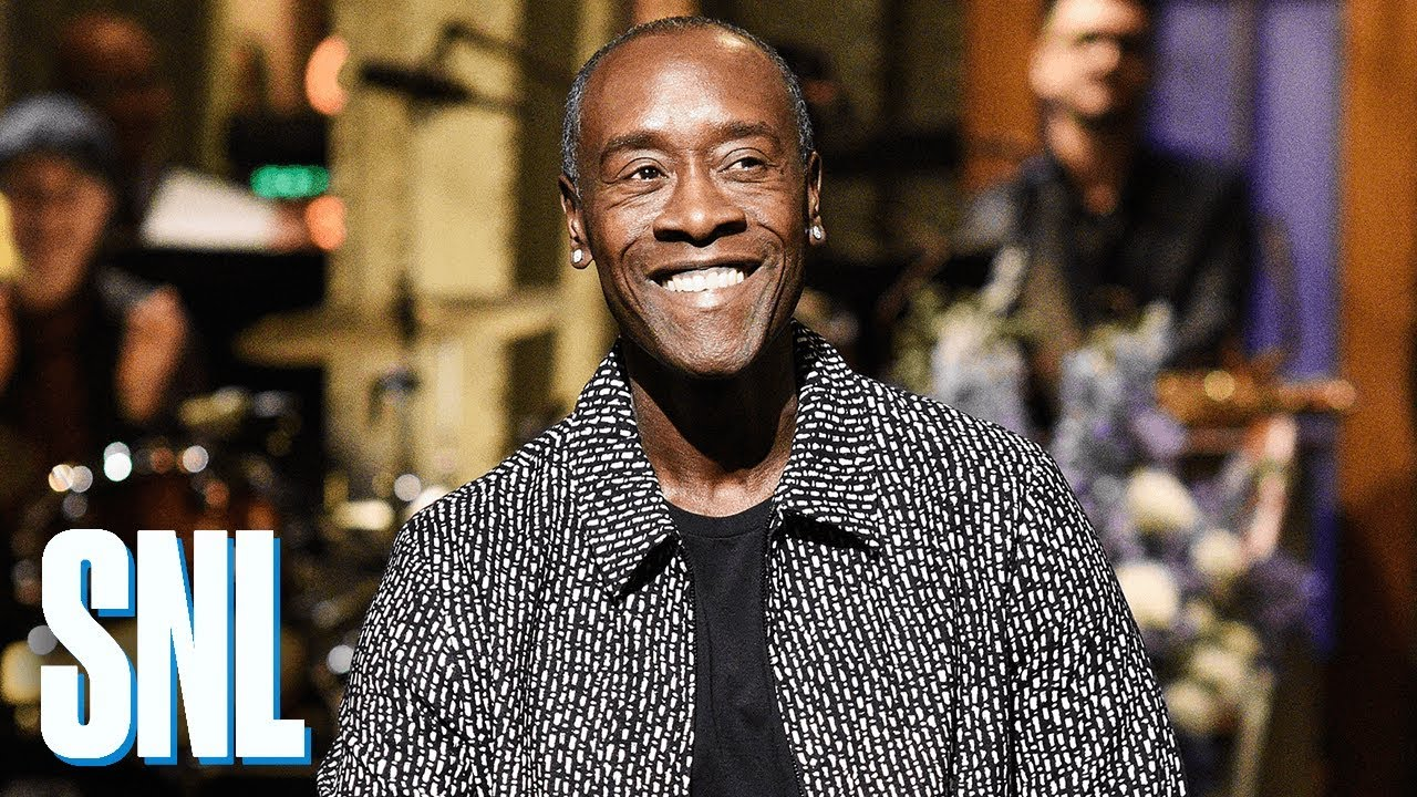don cheadle saturday night live host