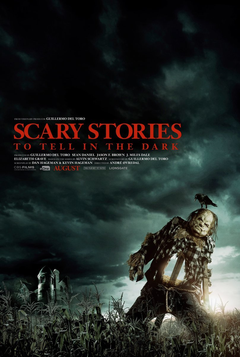 scary stories to tell in the dark poster Guillermo Del Toros Scary Stories to Tell in the Dark gets several new TV spots: Watch