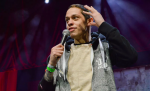 Pete Davidson, Photo by Amanda Koellner, Comedian, Saturday Night Live, Tattoo, Ariana Grande