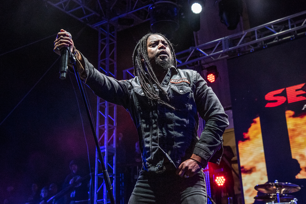 Sevendust at ShipRocked 2019
