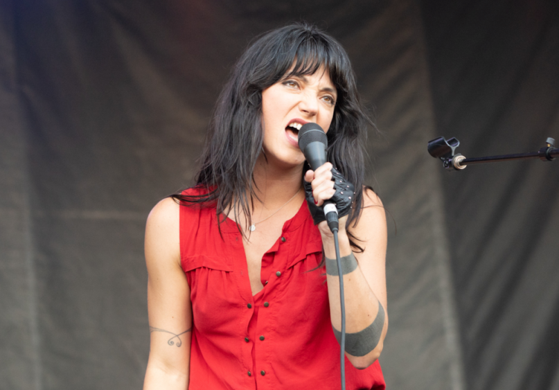 "Sharon Van Etten ""Never Grow Old"" gospel cover new music"