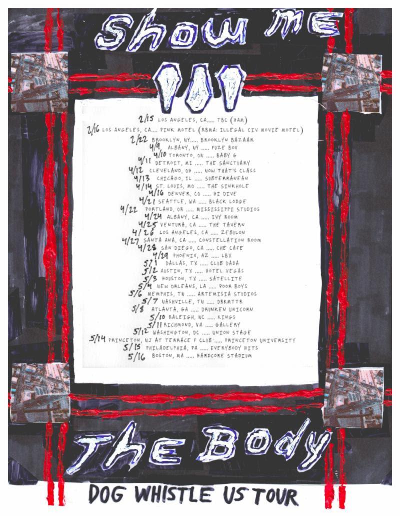 show me the body 2019 tour dates