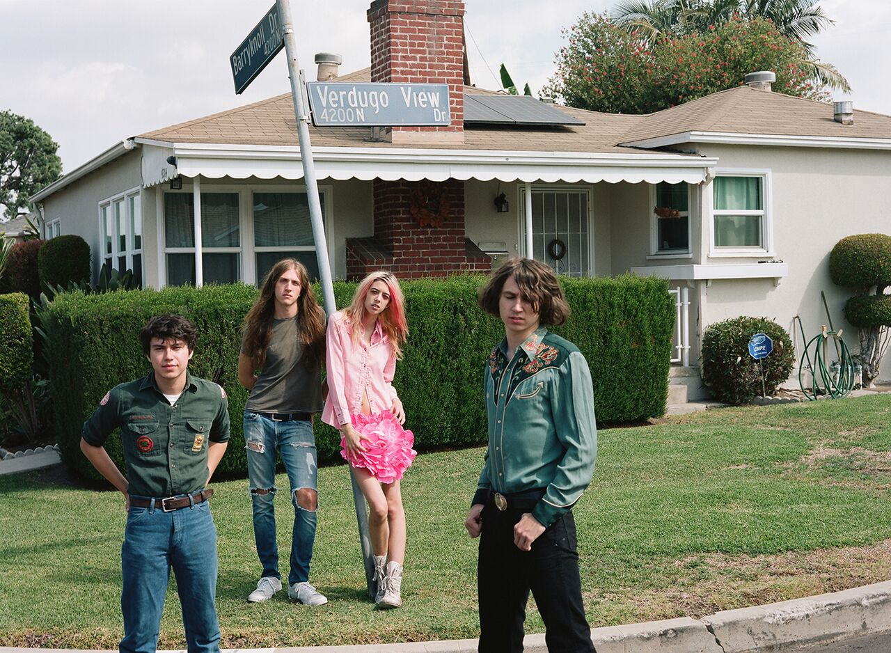 Starcrawler She Gets Around new song single new album tour dates