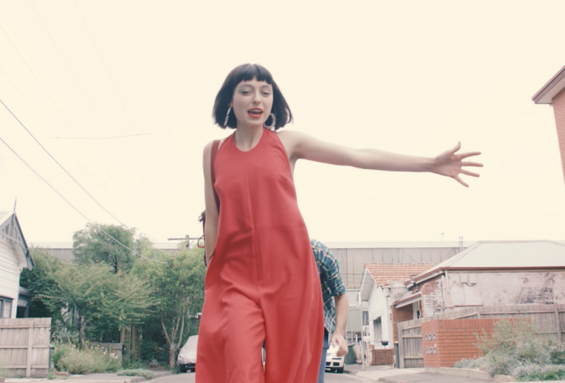 """Stella Donnelly """"Tricks"""" music video song release new indie music"""