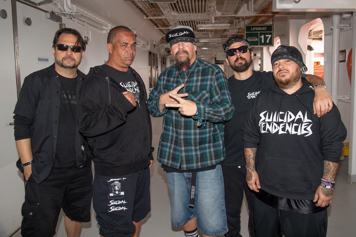 Suicidal Tendencies at ShipRocked 2019