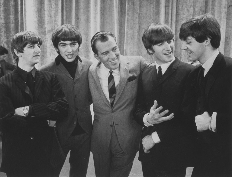 The Beatles on The Ed Sullivan Show, Courtesy of the Smithsonian National Portrait Gallery