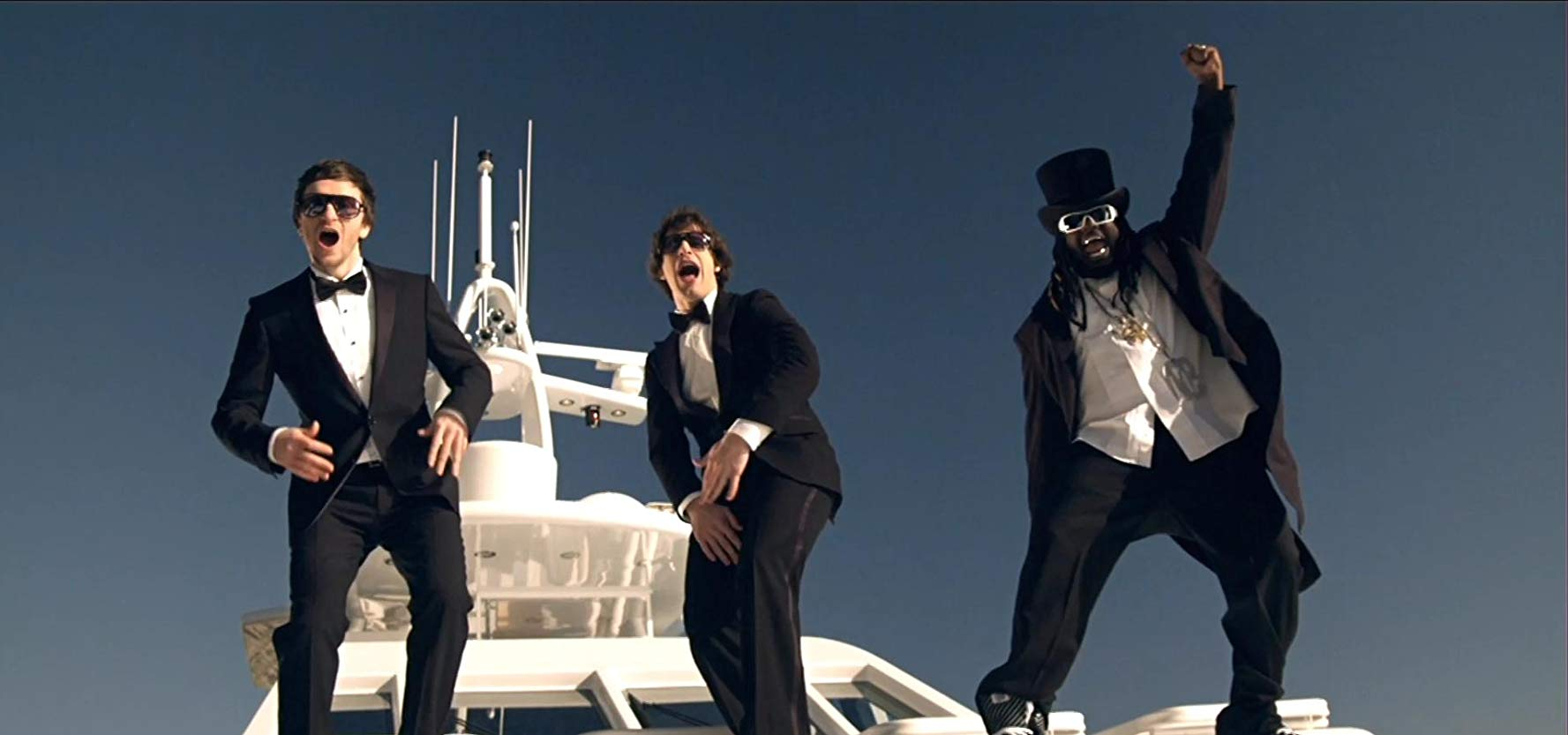 "The Lonely Island in ""I'm On A Boat"""