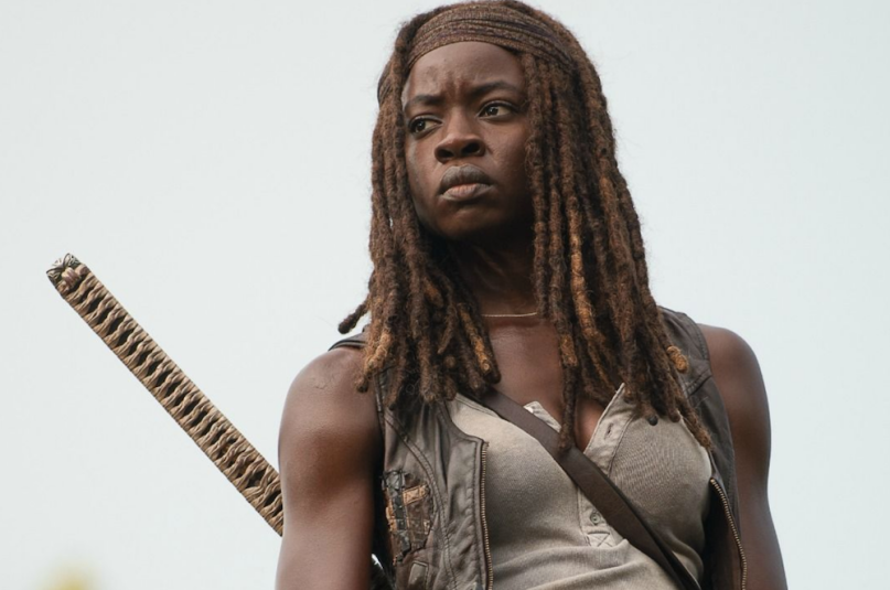 Danai Gurira as Michonne leaving The Walking Dead, Season 10