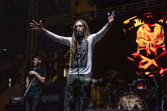 Brian Head Welch at ShipRocked 2019
