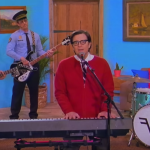 Weezer High As A Kite Living in LA Music Video New Songs Black Album Mr Rivers' Neighborhood