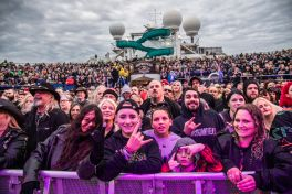 Fans at ShipRocked 2019