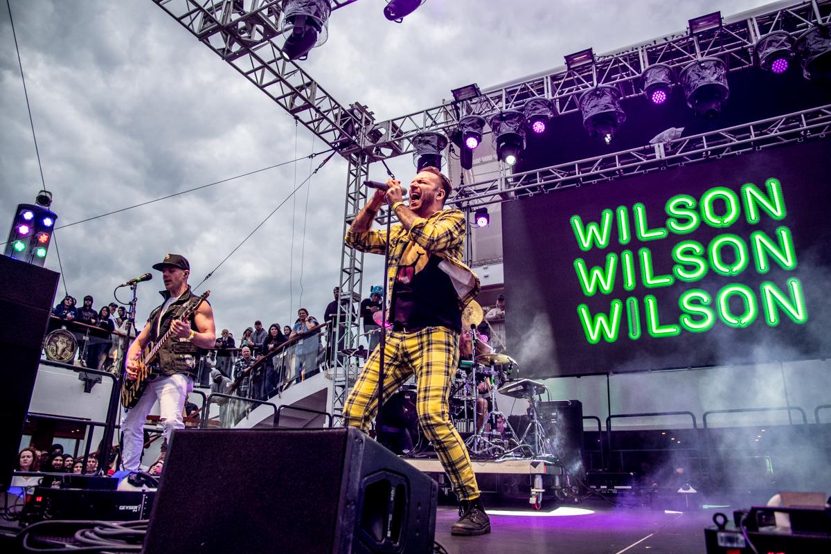 Wilson at ShipRocked 2019