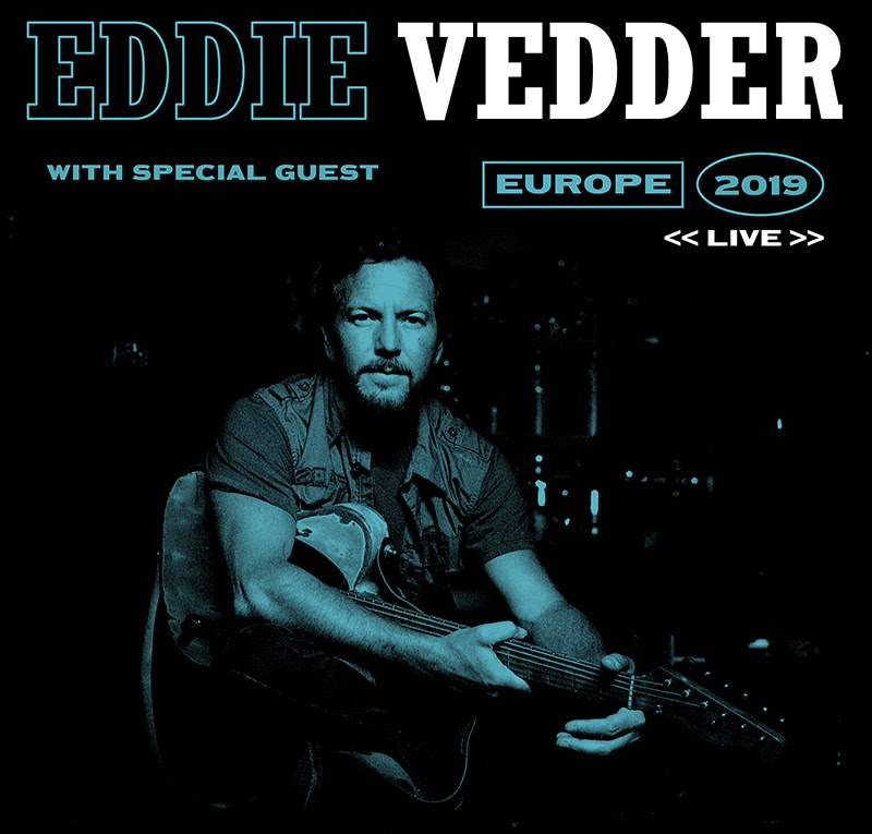 eddie vedder announces 2019 solo tour dates consequence of sound