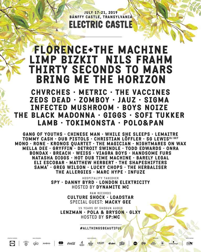 Electric Castle 2019 lineup