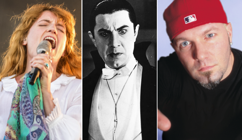 Florence & The Machine (Autumn Andel), Dracula, and Limp Bizkit