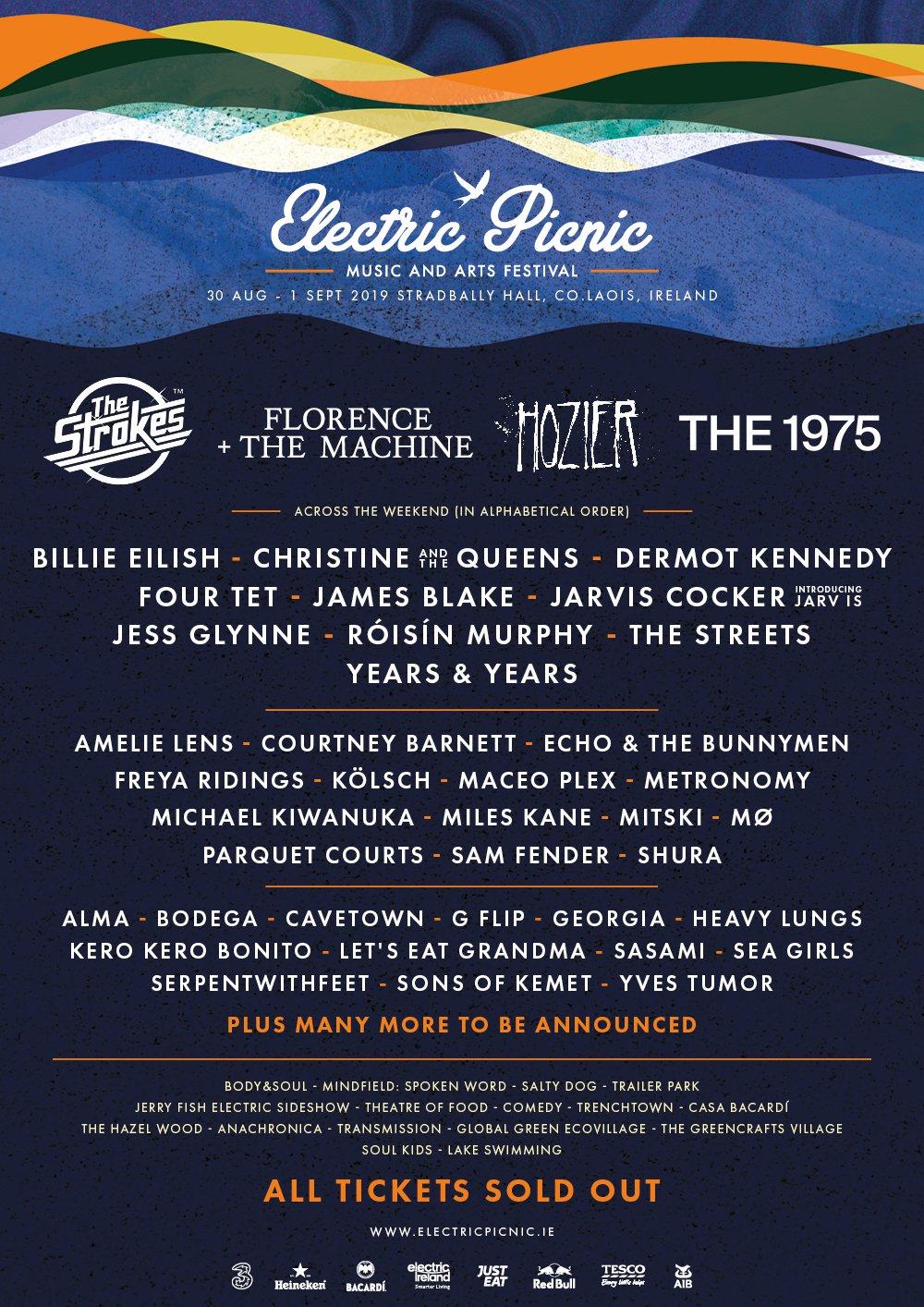 Electric Picnic 2019 lineup