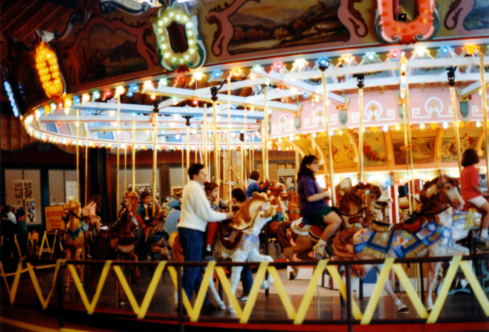 Historic Holyoke merry go round 1994 Mark Mulcahy announces The Gus LP, shares Origins of Taking Baby Steps: Stream