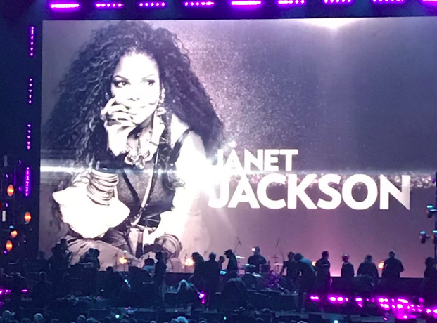 Janet Jackson at Rock and Roll Hall of Fame