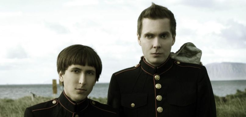 Jónsi and Alex Somers