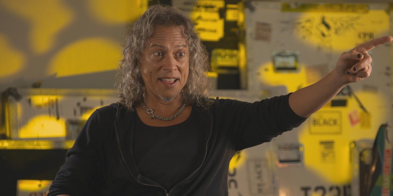 Kirk Hammett in Murder in the Front Row