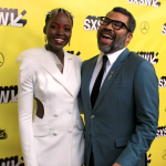 Lupita Nyong'o and Jordan Peele white dude lead cast heather kaplan