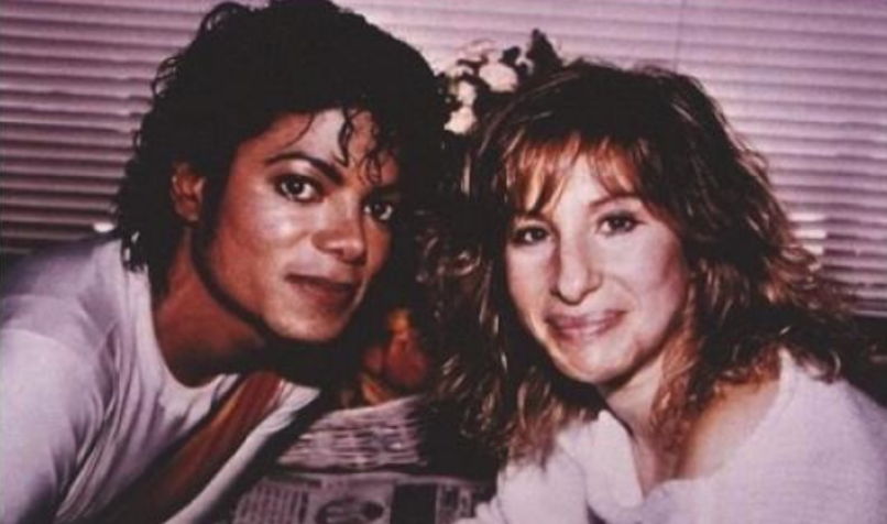 Image result for barbra streisand michael jackson