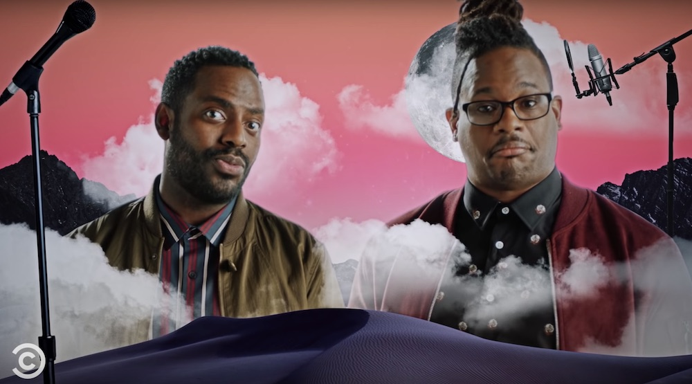 Open Mike Eagle Baron Vaughn The New Negroes Premiere Special Guests Hannibal Buress