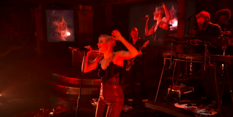 Robyn the Late Show with Stephen Colbert television appearance