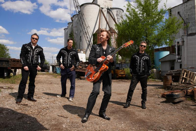 Brian Setzer Rockabilly Riot Tour Dates 2019 Summer The Stray Cats