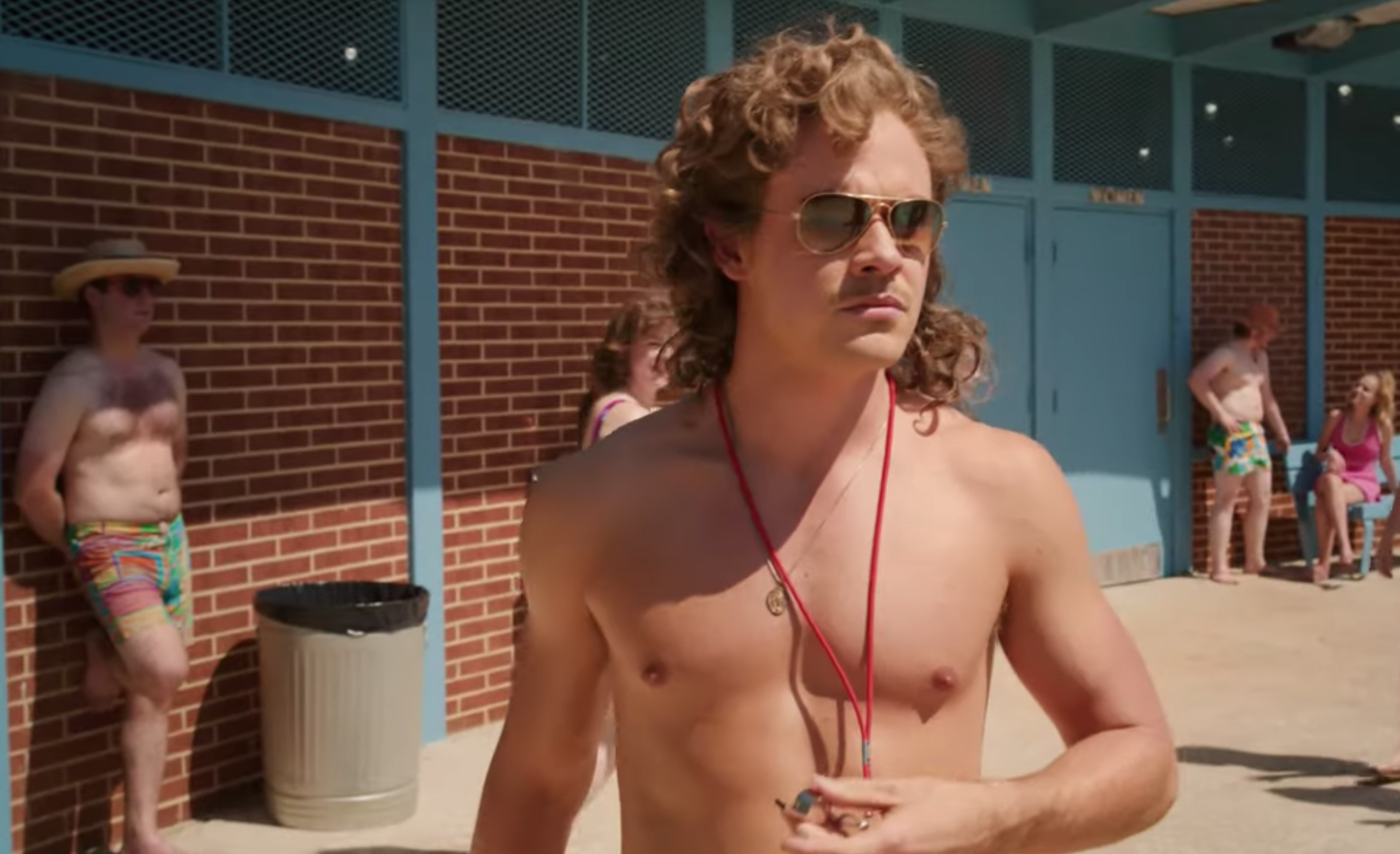 30b09bfda025 ... Stranger Things Season …we know who's being affected by the water, and  it's none other than the town's new lifeguard, Billy Hargrove (Dacre  Montgomery).