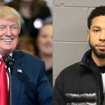 Donald Trump and Jussie Smollett