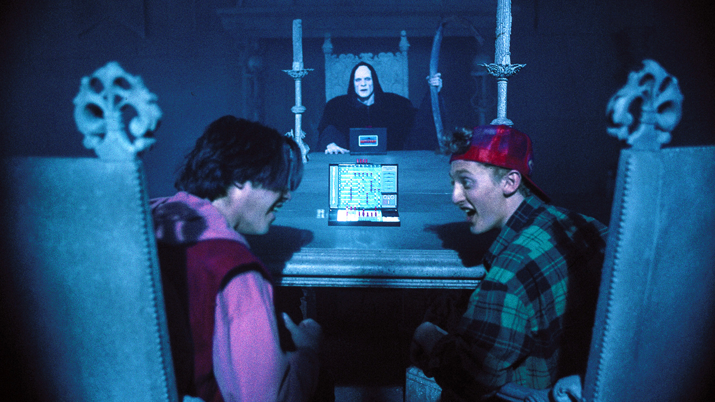 William Sadler, Keanu Reeves, Alex Winters, Bill and Ted