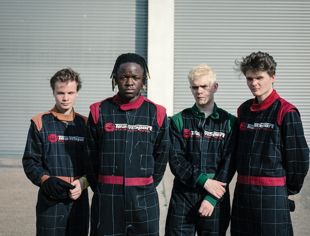 """black midi let loose jarring new song """"Crow's Perch"""": Stream"""