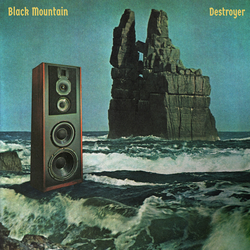 black mountain destroyer new album cover artwork