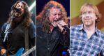 Foo Fighters (David Brendan Hall), Robert Plant (Hall), Trey Anastasio (Paul R. Giunta)