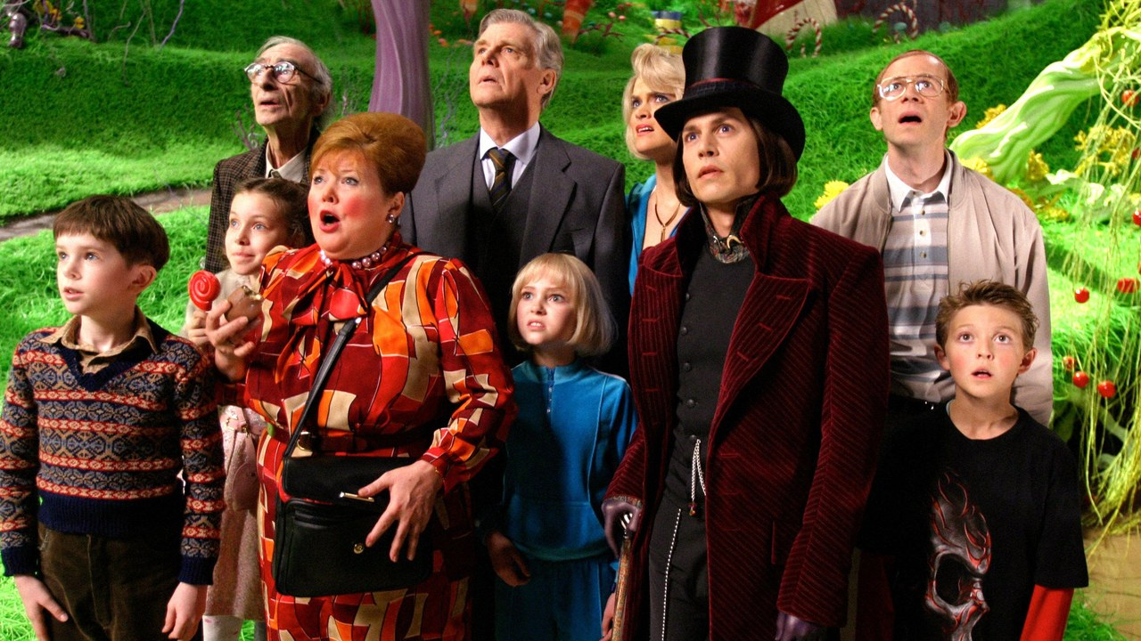 charlie and the chocolate factory tim burton johnny depp