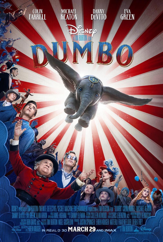 dumbo tim burton 2019 disney movie