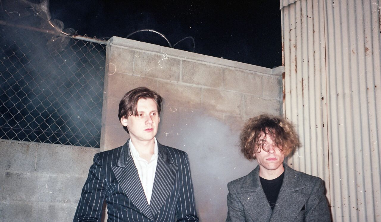 Foxygen Livin' A Lie Face the Facts Seeing other people new song single lp record album