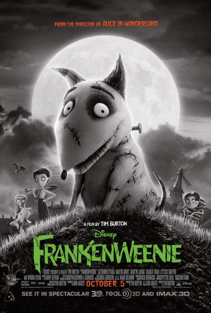 frankenweenie Ranking: Every Tim Burton Movie from Worst to Best