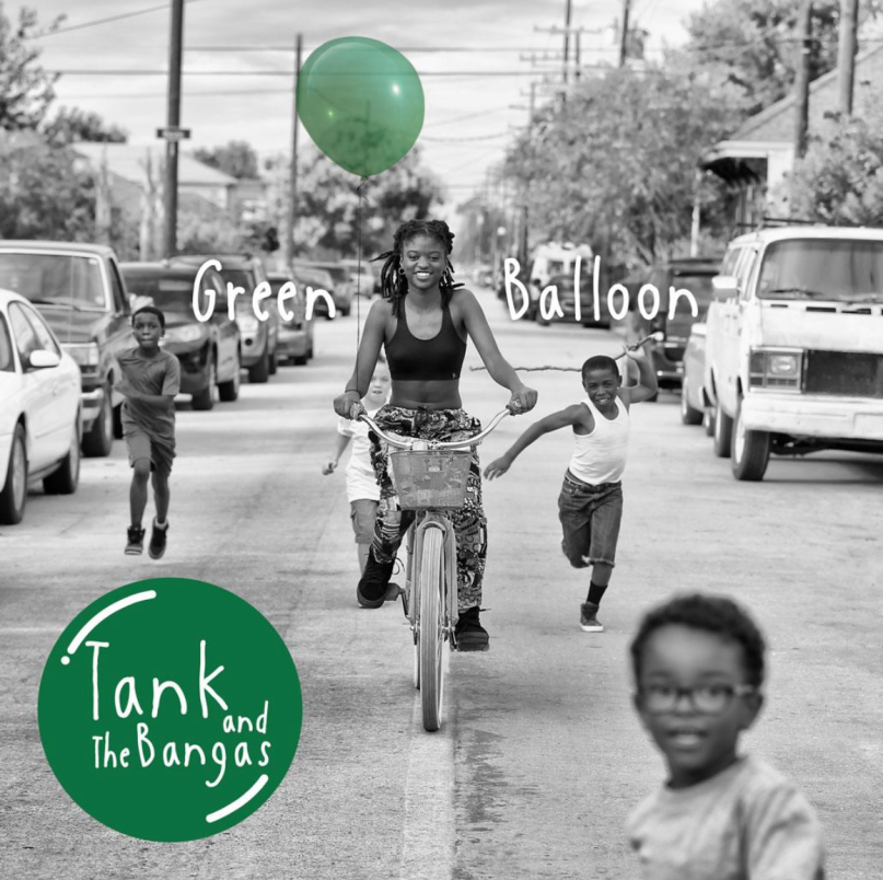 Green Balloon Tank and the Bangas New Album Ants Release Artwork Cover