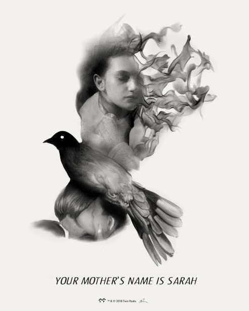 """""""Your Mother's Name is Sarah"""" x The Art of Twin Peaks (Mondo)"""