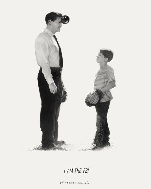 """I Am the FBI"" x The Art of Twin Peaks (Mondo)"