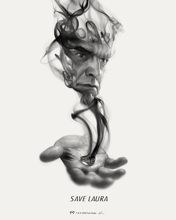 """Save Laura"" x The Art of Twin Peaks (Mondo)"