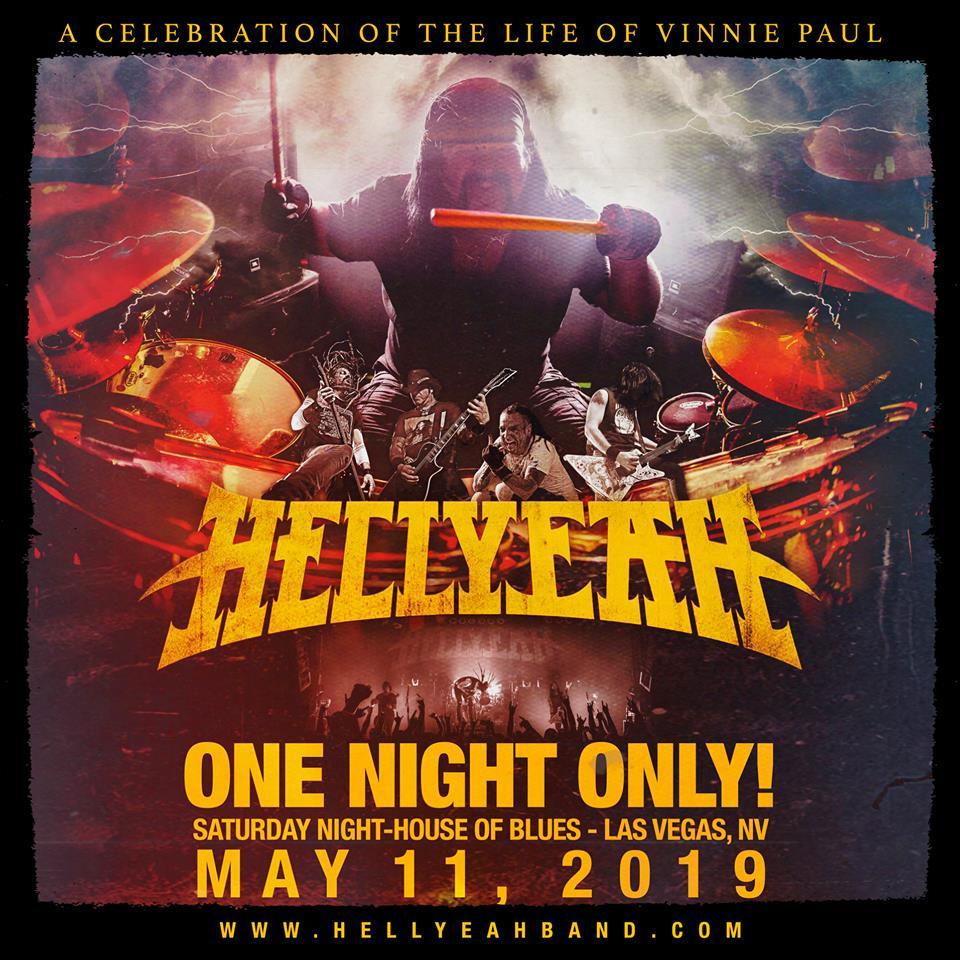 Hellyeah Vinnie Paul Celebration