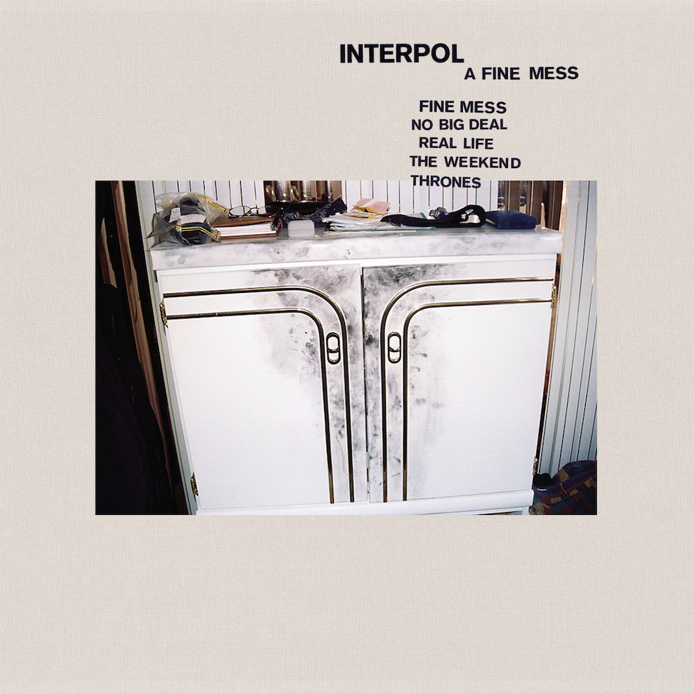 interpol a fine mess EP artwork