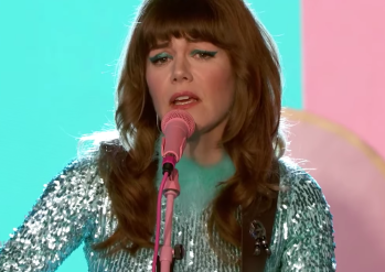 JEnny Lewis on the line Jimmy Kimmel album stream performance video